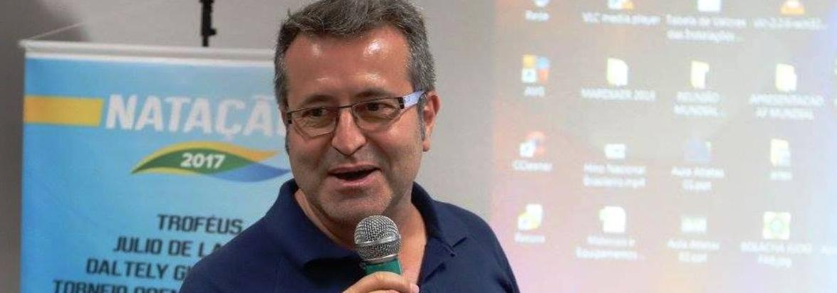 CBDA - FINA aprova realização de clínicas com medalhista olímpico Ricardo Prado