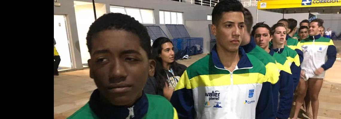 Pólo Aquático - Terceiro dia do Sul-Americano Sub-16 de Polo Aquático garante a liderança do Brasil