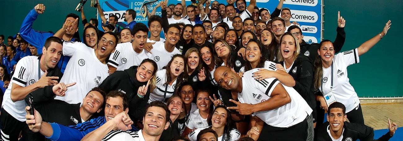Natação - Pinheiros é campeão do Troféu Brasil - Maria Lenk