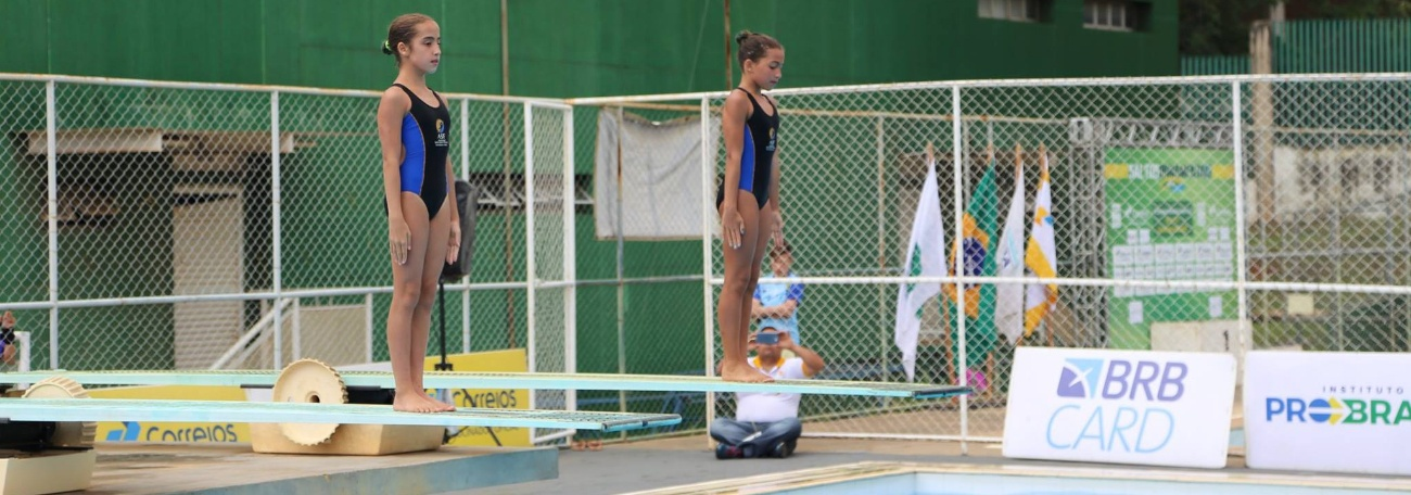 Saltos Ornamentais - Campeonato Brasileiro Interclubes – Torneio Internacional de Saltos é realizado em Brasília