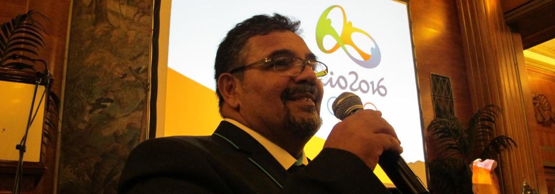 Maratonas Aquáticas - Ricardo Ratto ministra clínica de arbitragem em Fortaleza