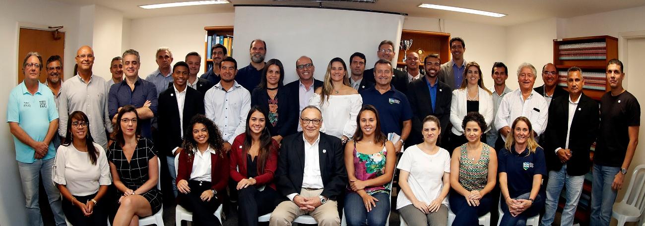 CBDA realiza 1º Painel de Governança com presença de Gustavo Borges e Fabiana Bentes