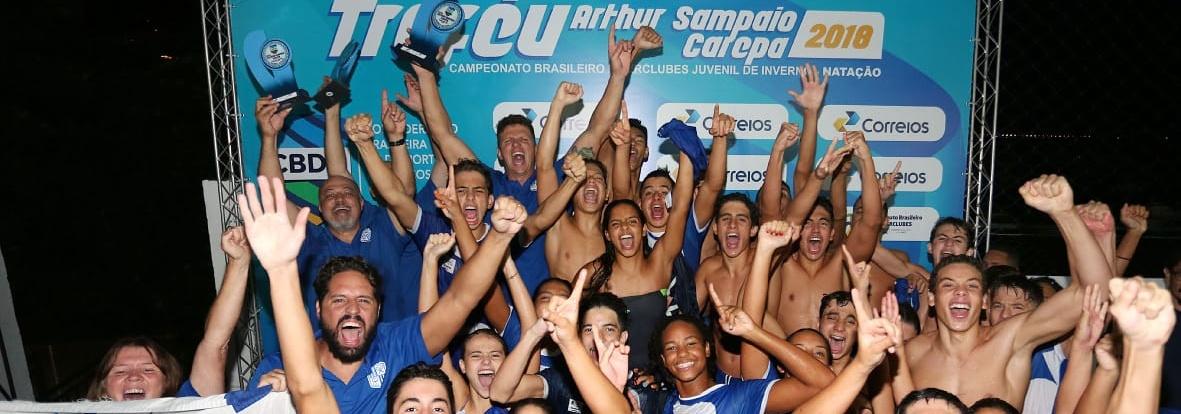 Minas Tênis Clube é Campeão Brasileiro Interclubes Juvenil de Natação
