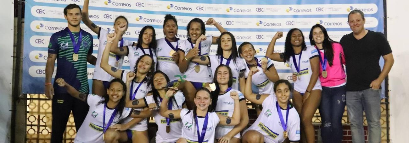 Sociedade Hípica e ABDA conquistam o Campeonato Brasileiro Interclubes sub-15 de Pólo Aquático