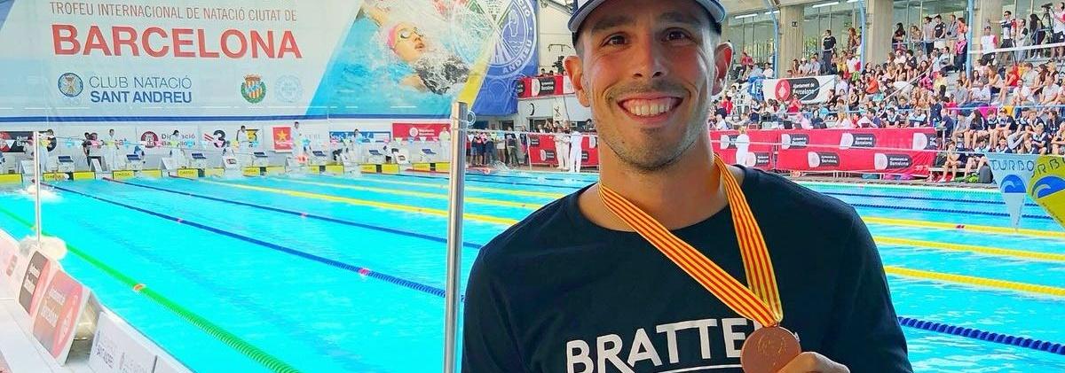 Bruno Fratus conquista o bronze na etapa de Barcelona do Circuito Mare Nostrum