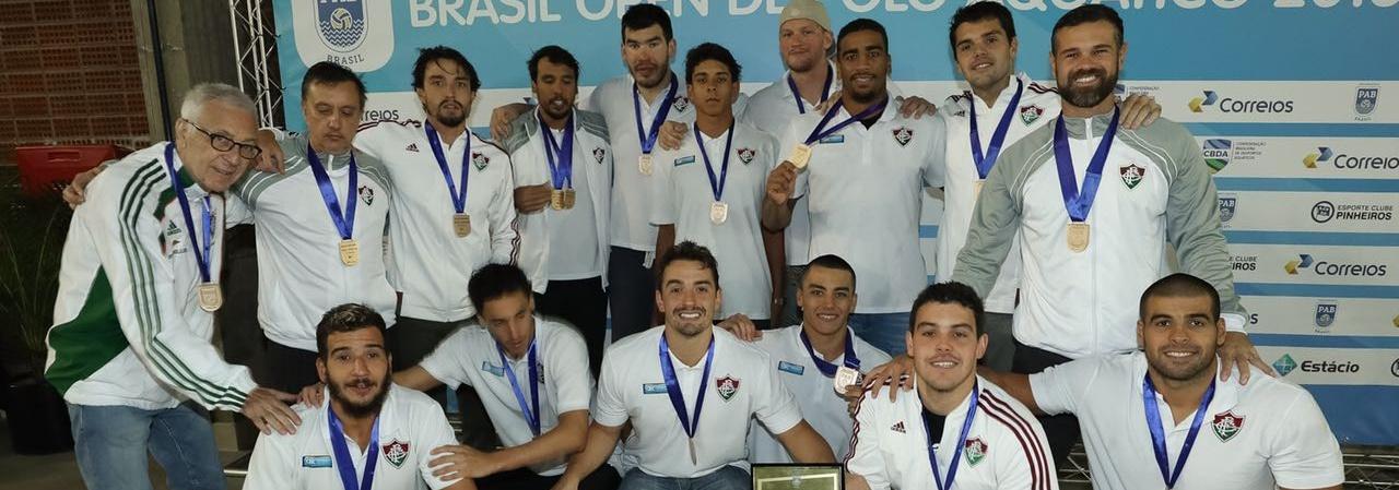 Pólo Aquático - Fluminense e Pinheiros são campeões do Brasil Open de Pólo Aquático