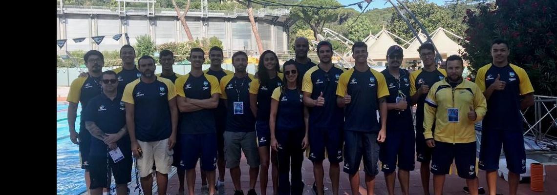 Dupla brasileira empata em 1º lugar, e Brasil encerra Sette Colli com 15 medalhas