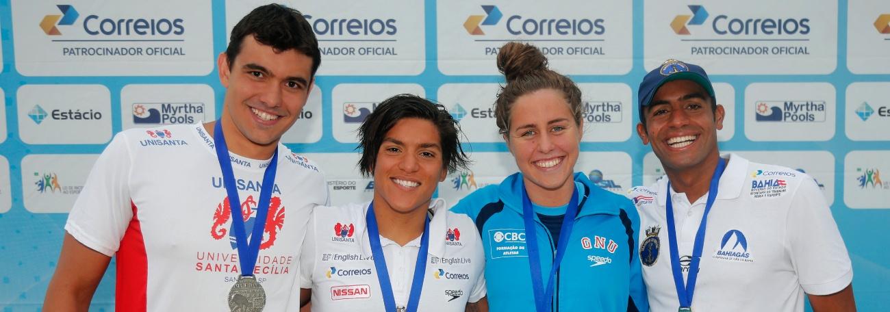 Com novidade, Seleção brasileira disputa etapa do Fina Marathon Swim no Canadá