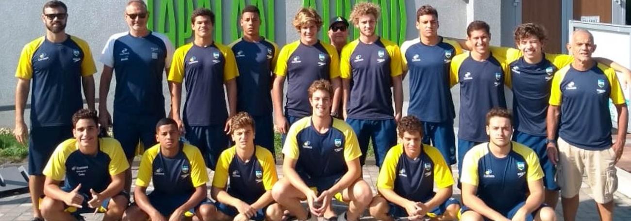 Com seis campeões do Pan-Americano, Brasil disputa Campeonato Mundial Sub-18 de Pólo