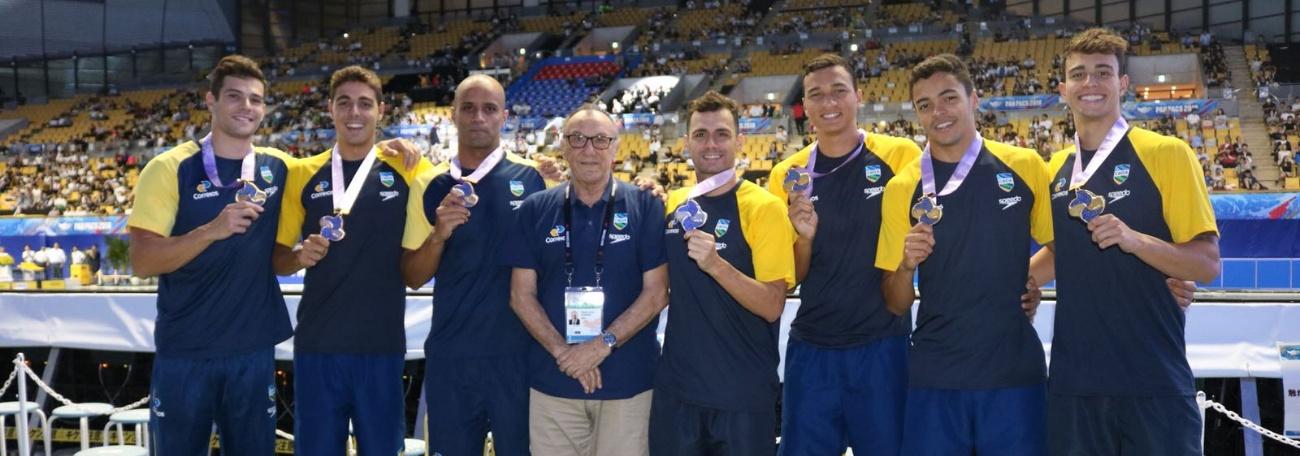 CBDA - Brasil encerra campanha histórica no Pan-Pacífico com cinco medalhas e recorde de finais