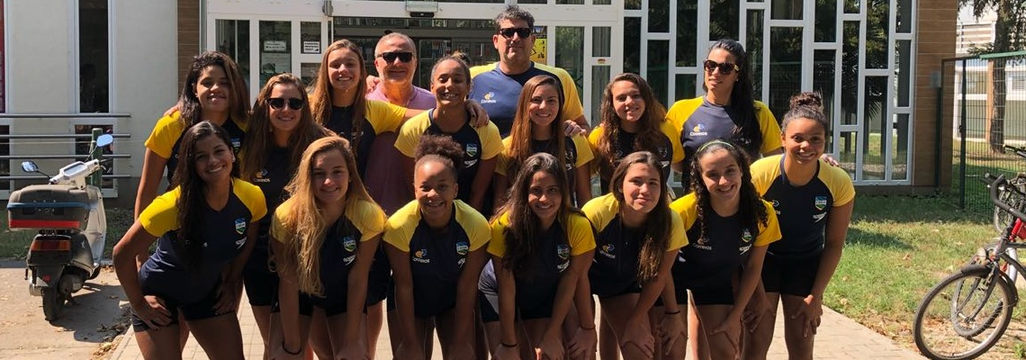 Brasil estreia no Campeonato Mundial sub-18 de Pólo Aquático nesta segunda-feira