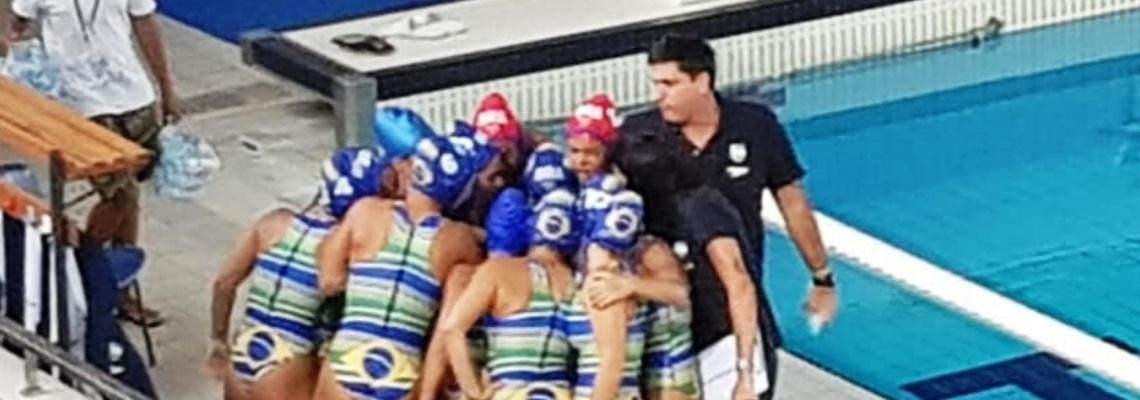 Brasil é derrotado pela Grécia na estreia do Mundial sub-18 de Pólo Aquático