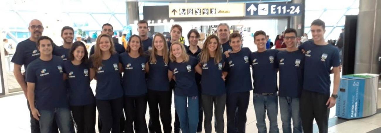 Seleção brasileira disputa Campeonato Mundial Júnior de Maratonas Aquáticas em Israel