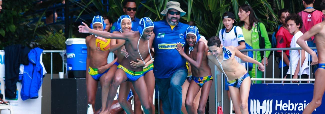 Pólo Aquático - ABDA vence Flamengo e é campeã brasileira interclubes sub-13 de Pólo Aquático
