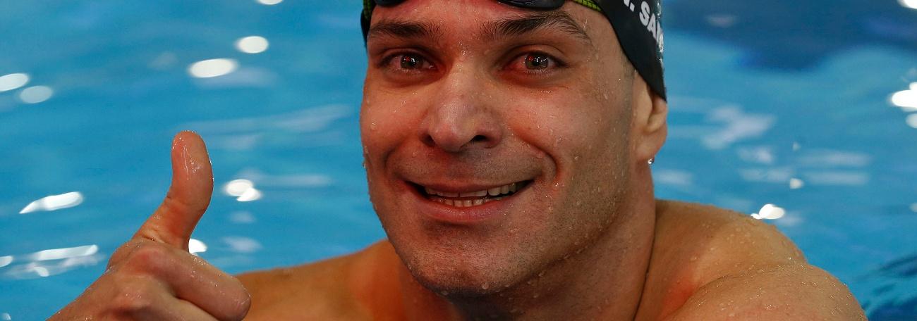Nicholas Santos quebra recorde mundial dos 50m borboleta