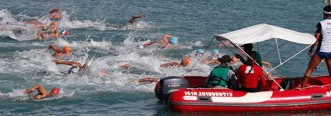 Maratonas Aquáticas - Maceió recebe 6ª etapa do Campeonato Brasileiro e Copa Brasil de Maratonas Aquáticas