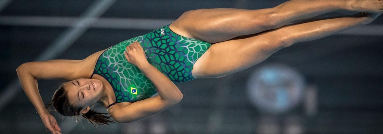 Saltos Ornamentais - Anna Lúcia supera dor e salta três provas nos Jogos Olímpicos da Juventude