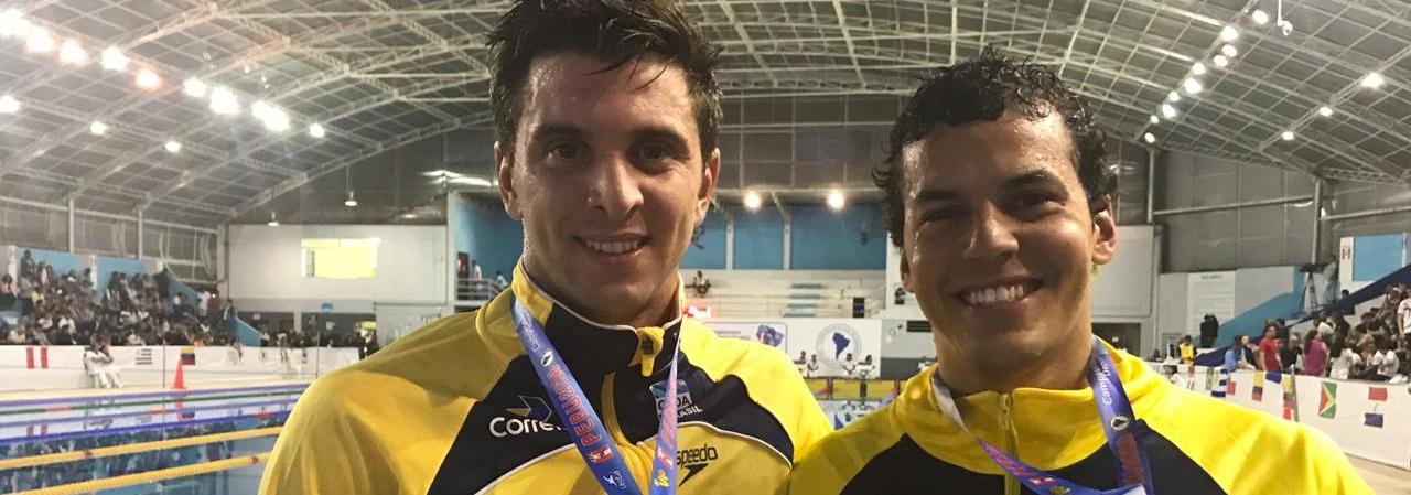 Natação - Natação do Brasil conquista mais nove medalhas no Campeonato Sul-Americano