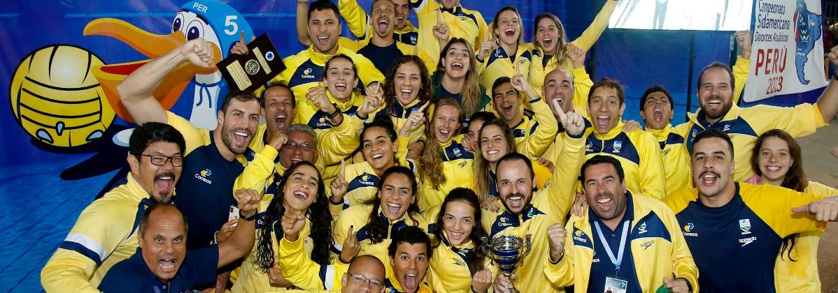 Natação - Brasil é campeão geral na Natação do Campeonato Sul-Americano do Peru