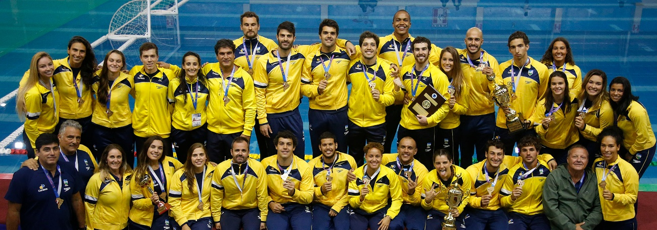CBDA - Brasil encerra Sul-Americano como campeão em todas as modalidades e 78 medalhas conquistadas