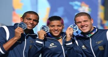 Maratonas Aquáticas - Prata com emoção