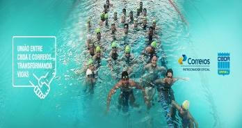 CBDA - A união Correios e esportes aquáticos promove transformações sociais