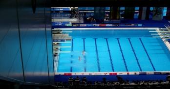 Saltos encerram competição em Budapeste