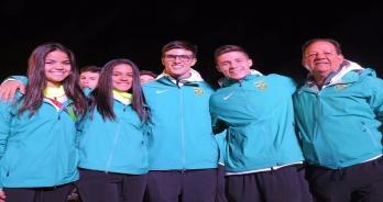 Equipe de saltos ornamentais conquista medalha de prata nos Jogos Sul-Americanos da Juventude