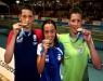 Natação - Trio bate recordes no segundo dia de competições do Troféu Chico Piscina