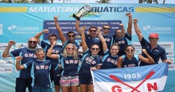 Grêmio Náutico União é campeão no Ranking Nacional de Maratonas Aquáticas de 2017