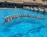Nado Sincronizado - Mistura do Brasil com a Rússia: Dueto treina com campeãs olímpicas no Maria Lenk