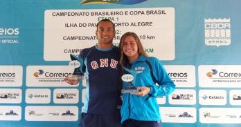 Fernando Ponte e Viviane Jungblut vencem I Etapa do Campeonato Brasileiro de Maratonas Aquáticas
