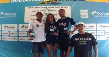 Fernando Ponte e Allan do Carmo empatam na batida de mão; Viviane Jungblut vence no feminino