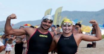 Betina Lorscheirtter e Victor Colonese vencem prova de 5 km do Campeonato Brasileiro