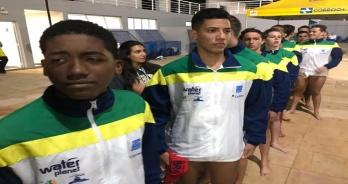 Terceiro dia do Sul-Americano Sub-16 de Polo Aquático garante a liderança do Brasil