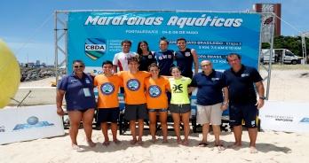 Oito atletas são convocados para a Seleção Brasileira de Maratonas Aquáticaspara disputar o Mundial Júnior em Israel
