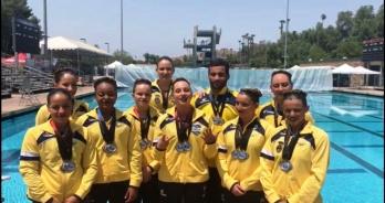 Brasil encerra Pan-Americano de Nado Artístico com sete medalhas