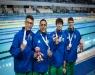 Natação - Brasil é prata no revezamento 4x100m livre nos Jogos Olímpicos da Juventude