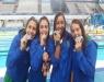 Natação - Brasil conquista prata no revezamento 4x100m livre feminino nos Jogos Olímpicos da Juventude
