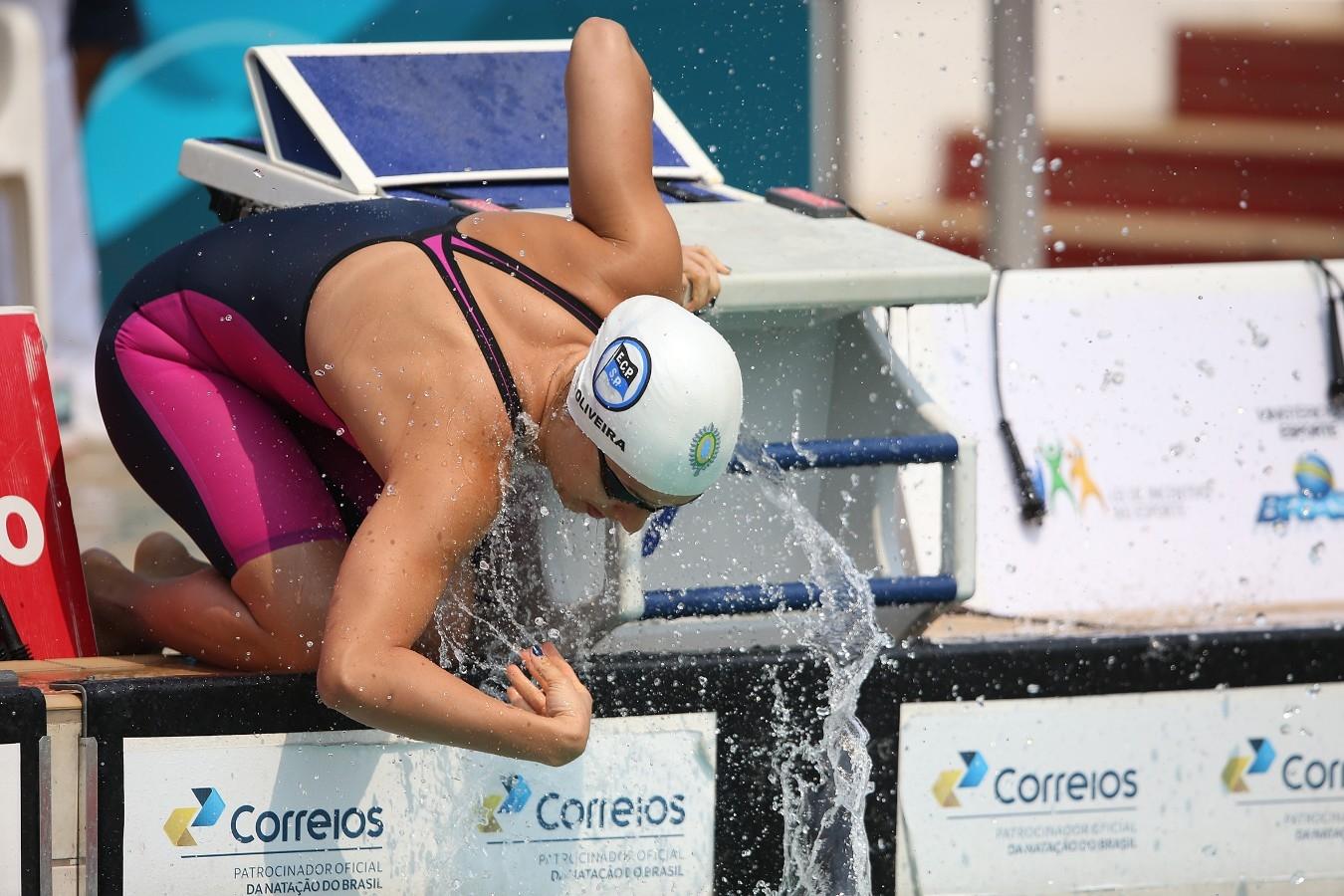 Larissa Oliveira - Trofeu Jose Finkel de Natacao no Clube Internacional de Regatas. 14 de Setembro de 2016, Santos, SP, Brasil. Foto:Satiro Sodré/SSPress.