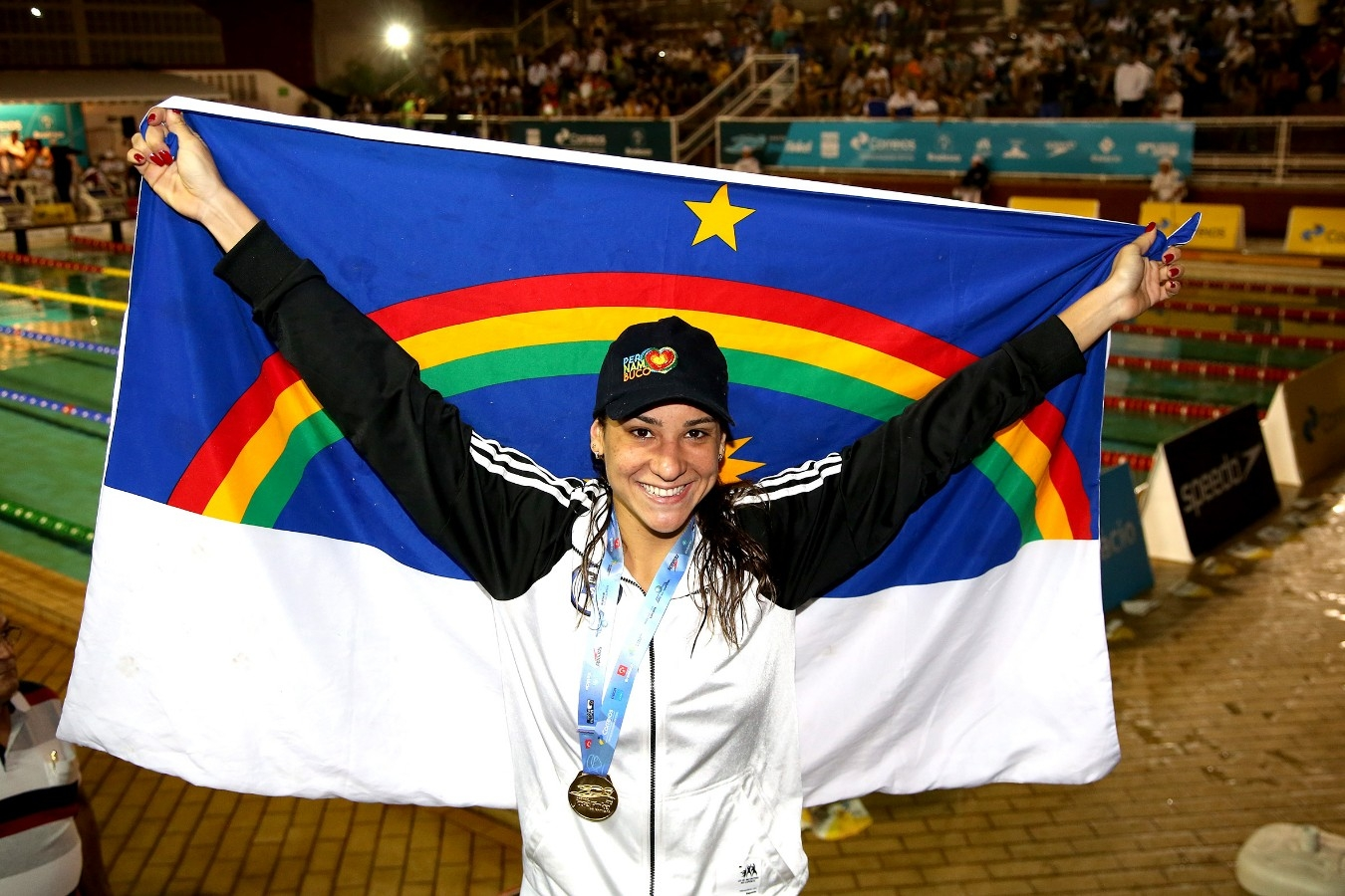 Joanna Maranhao - Trofeu Jose Finkel de Natacao no Clube Internacional de Regatas. 14 de Setembro de 2016, Santos, SP, Brasil. Foto:Satiro Sodré/SSPress.