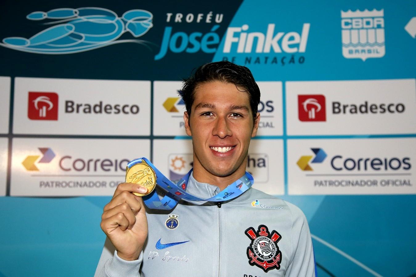 Brandonn Almeida - Trofeu Jose Finkel de Natacao no Clube Internacional de Regatas. 14 de Setembro de 2016, Santos, SP, Brasil. Foto:Satiro Sodré/SSPress.
