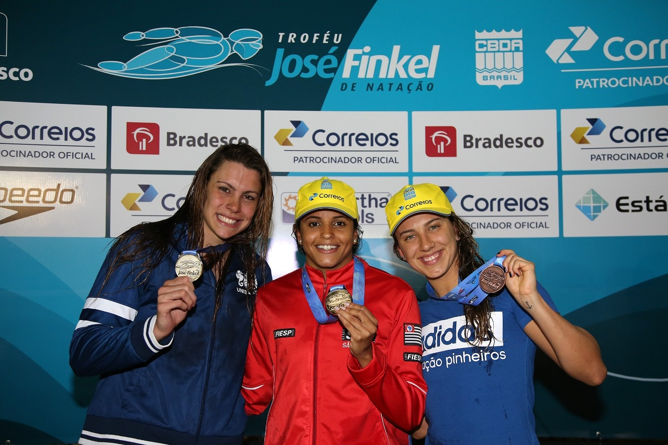 Etiene Medeiros - Trofeu Jose Finkel de Natacao no Clube Internacional de Regatas. 14 de Setembro de 2016, Santos, SP, Brasil. Foto:Satiro Sodré/SSPress.