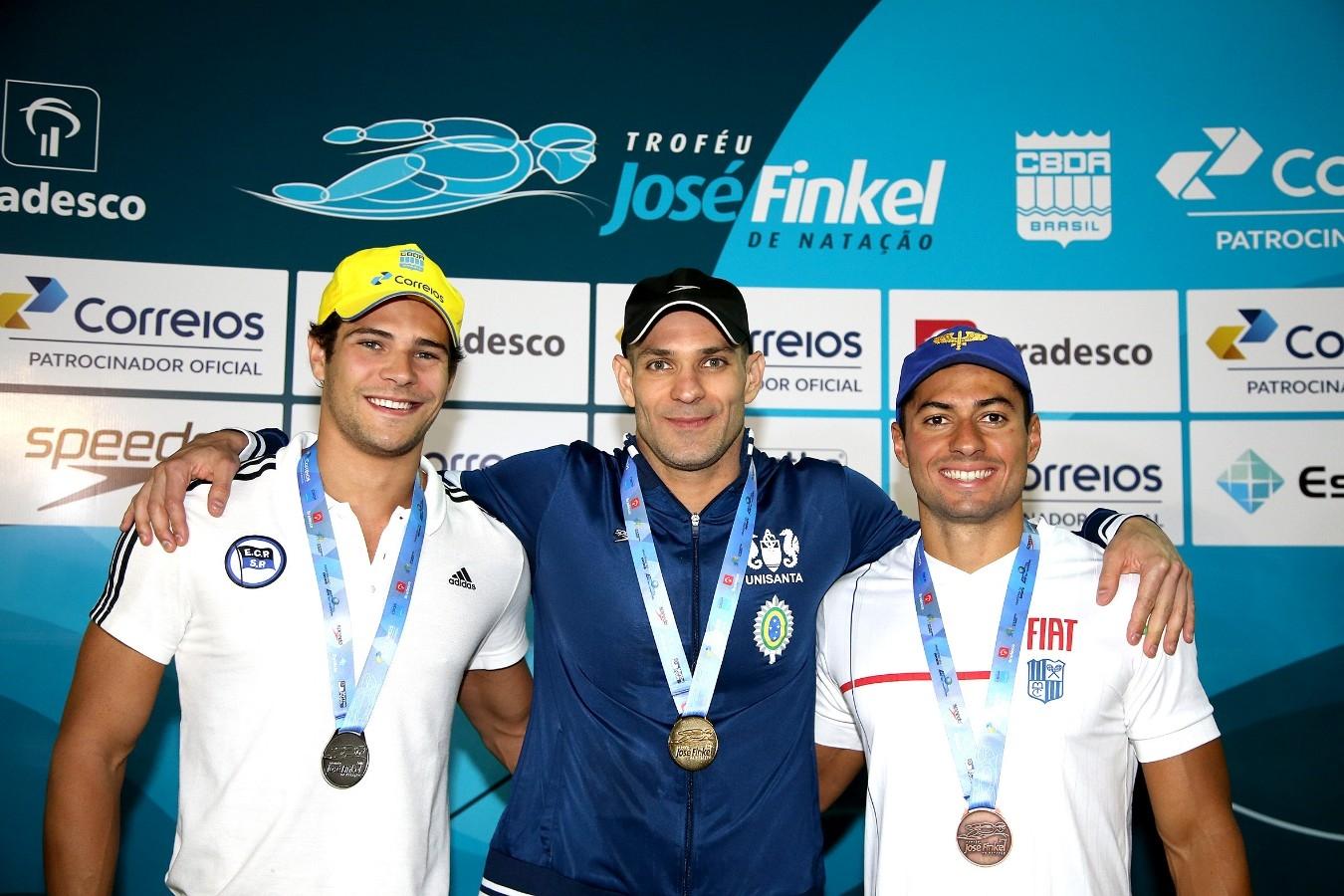 Nicholas Santos - Trofeu Jose Finkel de Natacao no Clube Internacional de Regatas. 14 de Setembro de 2016, Santos, SP, Brasil. Foto:Satiro Sodré/SSPress.