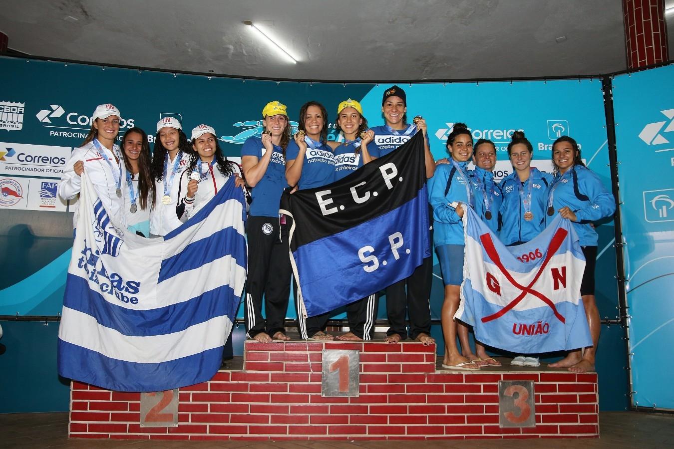 Trofeu Jose Finkel de Natacao no Clube Internacional de Regatas. 14 de Setembro de 2016, Santos, SP, Brasil. Foto:Satiro Sodré/SSPress.