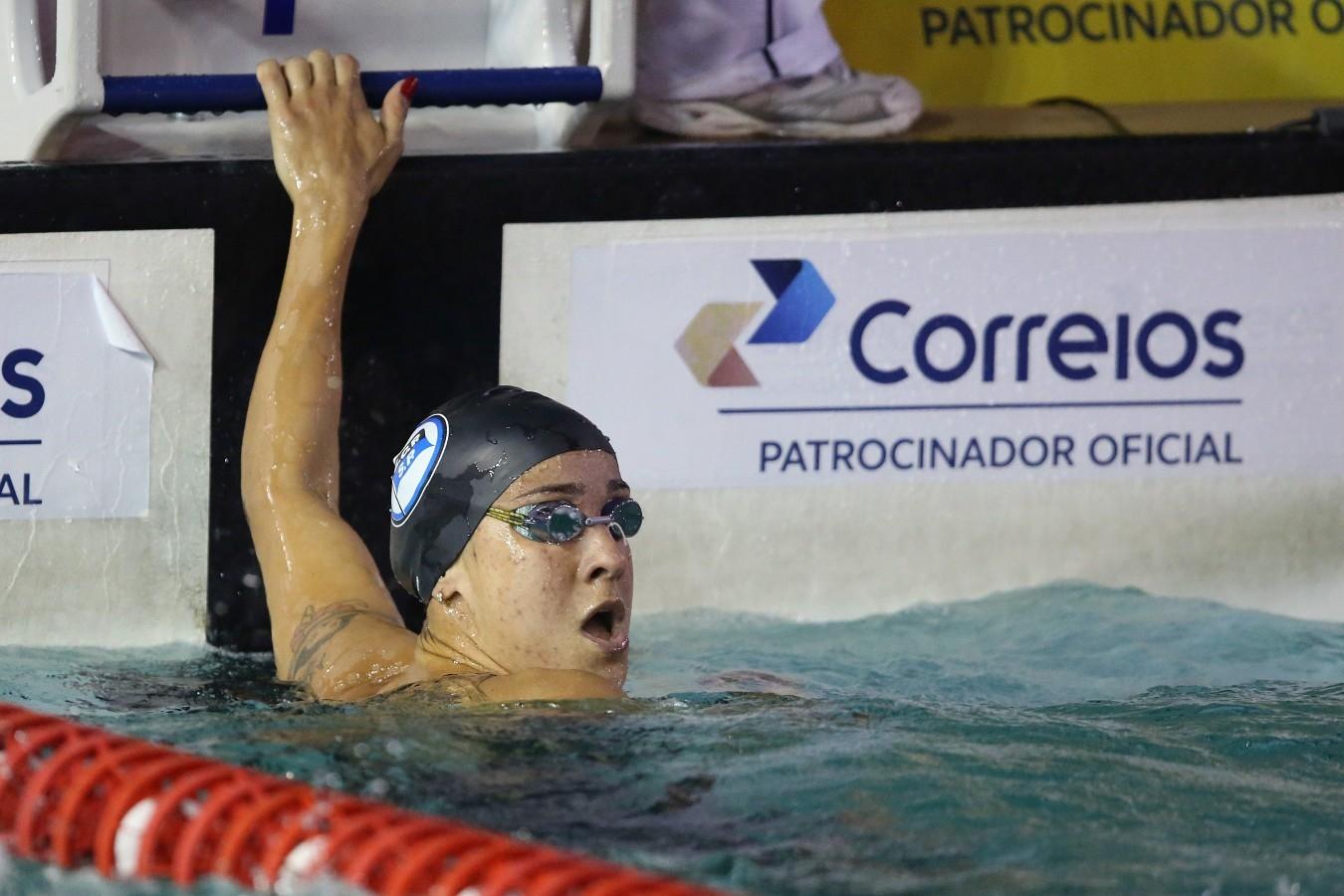 Joanna Maranhao - Trofeu Jose Finkel de Natacao no Clube Internacional de Regatas. 15 de Setembro de 2016, Santos, SP, Brasil. Foto:Satiro Sodré/SSPress.