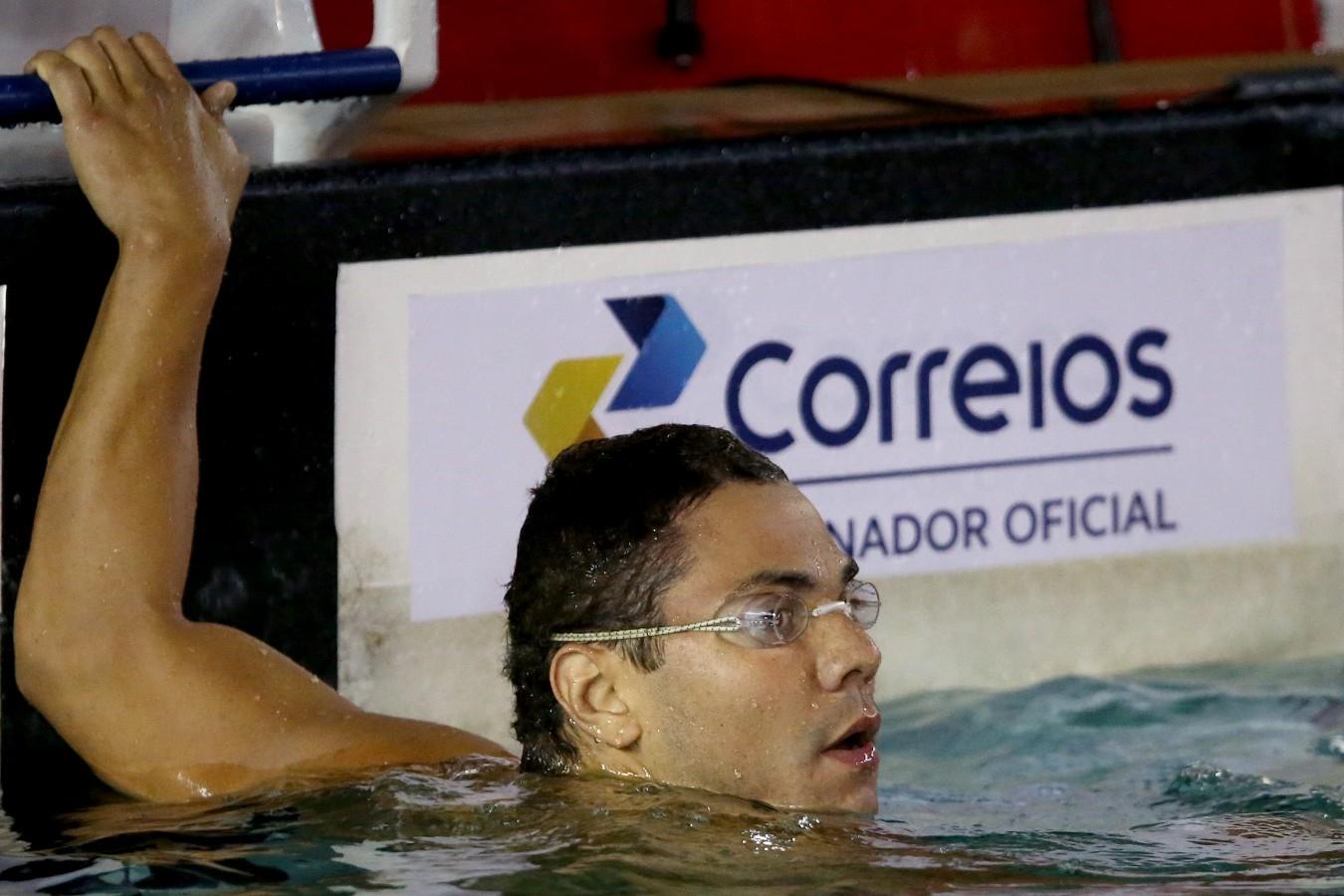 Trofeu Jose Finkel de Natacao no Clube Internacional de Regatas. 15 de Setembro de 2016, Santos, SP, Brasil. Foto:Satiro Sodré/SSPress.