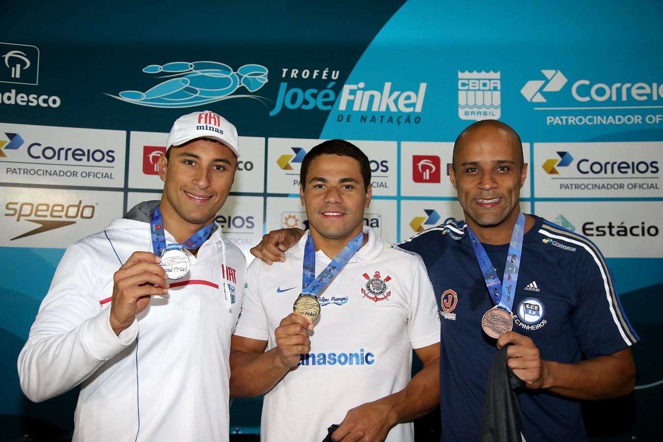 Felipe Franca - Trofeu Jose Finkel de Natacao no Clube Internacional de Regatas. 15 de Setembro de 2016, Santos, SP, Brasil. Foto:Satiro Sodré/SSPress.
