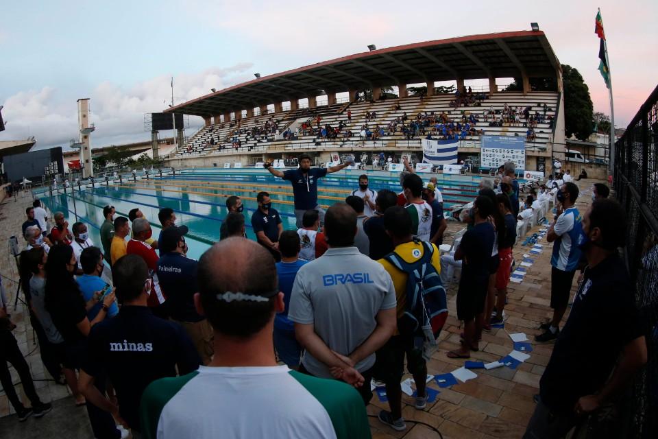 Trofeu Brasil de Natacao. 10 de Dezembro de 2020, Clube de Regatas Vasco da Gama. Rio de Janeiro, RJ, Brasil. Foto: Satiro Sodré/SSPress/CBDA