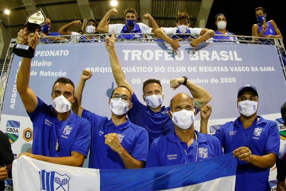 Trofeu Brasil de Natacao. 12 de Dezembro de 2020, Clube de Regatas Vasco da Gama. Rio de Janeiro, RJ, Brasil. Foto: Satiro Sodré/SSPress/CBDA